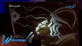 Wowowin: Mud artist performs a tribute for the soldiers in Marawi