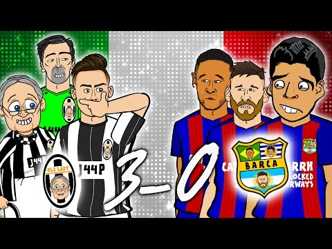 Xxx Mp4 😲3 0 Juventus Vs Barcelona😲 Champions League 2017 Quarter Final 1st Leg Parody 3gp Sex