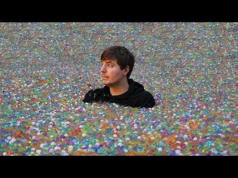 I Put 100 Million Orbeez In My Friend s Backyard