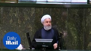 Iran's President Rouhani rules out talks with the US