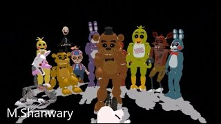 Five Nights at Freddy's 2 ,,Survive The Nights''(Full Animation Song)