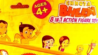 Chhota bheem Action Toys unboxing