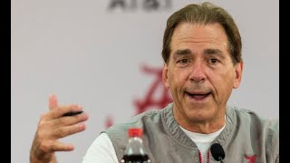 Nick Saban talks about avoiding letdown against Tennessee