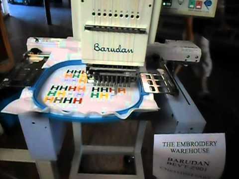 Barudan BEVT-Z901CA (LCD) SN: 3110215A07