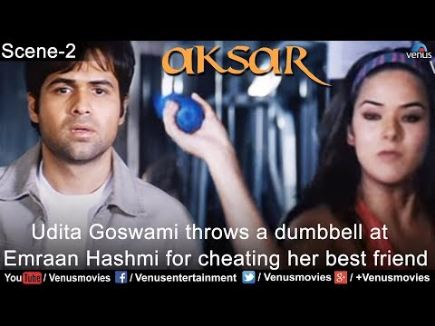 Xxx Mp4 Udita Goswami Throws A Dumbbell At Emraan Hashmi For Cheating Her Best Friend Aksar 3gp Sex