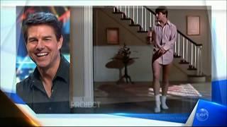 "Tom Cruise LIVE explains the ""Risky Business"" Dancing scene!"