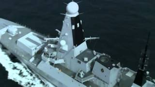 BAE Type 45 Destroyer On Sea Trial   YouTube