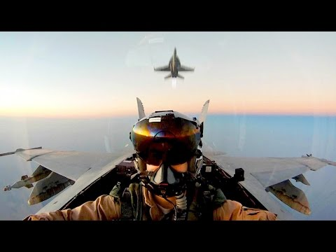 F-18 Super Hornets In Action - Experience The Awesomeness Of This Jet