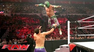 The Lucha Dragons vs. Breezango: Raw, July 11, 2016