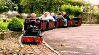 The littledale light railway at Heywood house  Caton near Lancaster