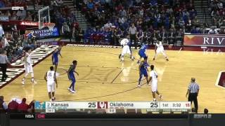 Kansas at Oklahoma   2016-17 Big 12 Men