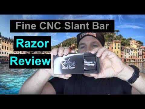 NEW Fine Slant Bar Safety Razor Review & Shave