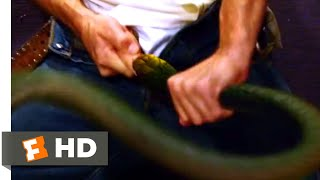 Snakes on a Plane (2006) - Snake in the Restroom Scene (1/10)   Movieclips