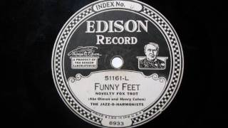 FUNNY FEET by The Jazz-O-Harmonists DD 51161-L