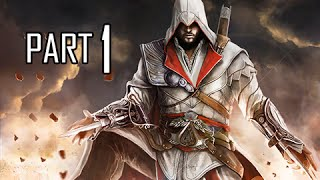 Assassin's Creed Brotherhood Walkthrough Part 1 - Fragmented Memory (ACB Let's Play Commentary)