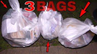 3 BAG JACKPOT HAUL!!! Gamestop Dumpster Diving Night #462