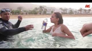 أصعب مشهد في مسلسل سقوط حر  شاهد كيف تم تنفيذ مشهد غرق الفنانة نيللي كريم