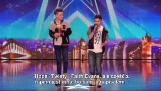 (Napisy)Brytyjski Mam Talent 8 - Bars & Melody