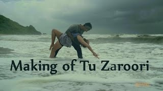 Making of song Tu Zaroori | ZiD | Sunidhi Chauhan | Mannara | Karanvir Sharma