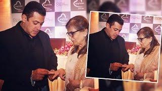 Salman Khan GIFTS Ring To Mom Salma Khan At Being Human Jewellery Launch