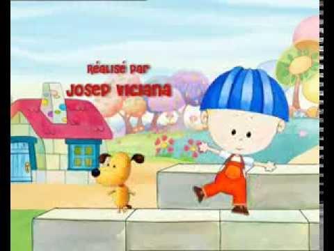 Dessins Animés Dougie se déguise Chef de chantier