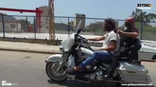 فادي اندراوس  يقص شعره على الدراجة -Beyond Starac Arabia Fadee Andrawos on the bike