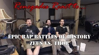 Renegades React to... Epic Rap Battles of History Zeus vs. Thor