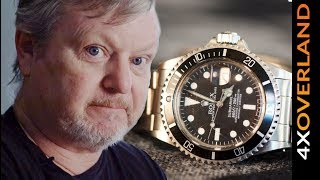 Rolex Submariner   STORY TIME with Andrew St Pierre White
