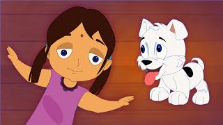 Naai Kutty | Chellame Chellam | Cartoon/Animated Tamil Rhymes For Children