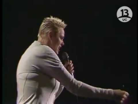 Rockin Like a Radio Brigitte Nielsen in Chile 1990