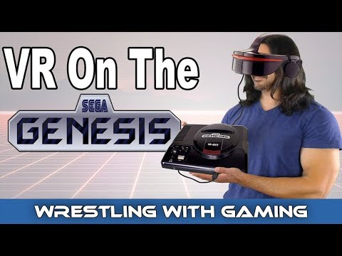 The Untold Story Of Virtual Reality On The Sega Genesis The Unreleased The Sega VR Headset