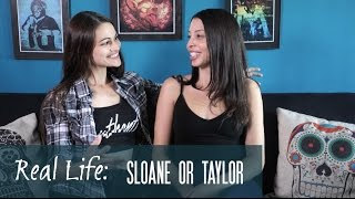Real Life with Kathy & Nancy: Sloane or Taylor? Attraction?