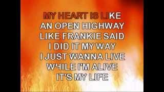 BON JOVI-ITS MY LIFE-Karaoke