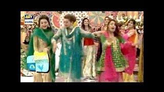 Beautiful Mehndi Dance Performance In Good Morning Pakistan