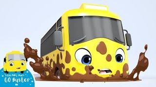 Go Buster - Stuck in the Mud | BRAND NEW SERIES | Kids Cartoon | Little Baby Bum | Cartoons For Kids