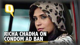 Bholi Punjaban, Richa Chadha Reacts to Condom Ad Ban   The Quint