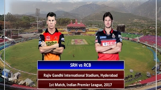 In Graphics: IPL - 2017, Sunrisers Hyderabad vs Royal Challengers Bangalore