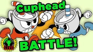 The CUPHEAD CHALLENGE! (feat. Kirbopher) | Cuphead