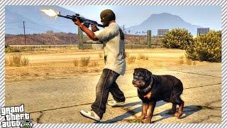 GTA 5 Gangster Life Mod #3 - Buying Badass Guard Dog & Finding New Job (GTA 5 Mods Gameplay)