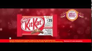 Kitkat Amazon Promo Offer I TVC 2016