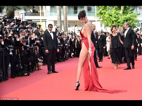 Xxx Mp4 Bella Hadid Wears The Sexiest Dress We Ve Ever Seen At Cannes 3gp Sex