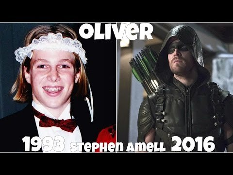 Arrow TV Show Actors Before and After They Were Famous