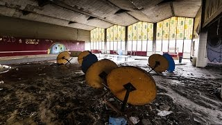 Abandoned College Campus - Dorms and Student Union