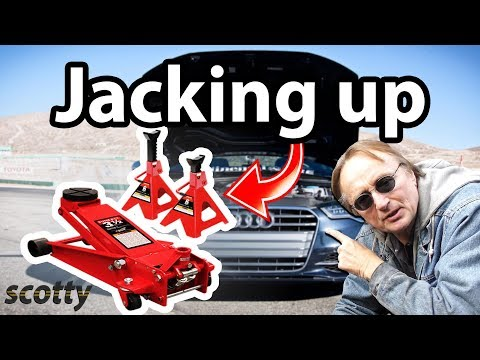 How To Properly Jack Up A Vehicle