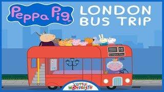 Peppa Pig London Bus Trip - Gameplay | Peppa Pig Games for Kids | Peppa Pig Cartoon | #PeppaPig