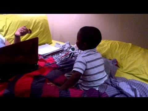 LOL: 3 Year Old Cussing His Aunty