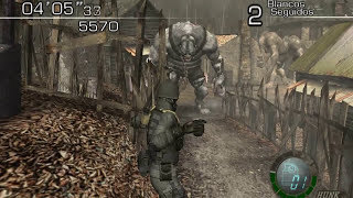 Resident evil 4 - Modo imposible con hunk - Gigantes y Saddlers