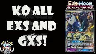 Necrozma GX – New Legendary Pokémon KOs Every GX and EX… At once!