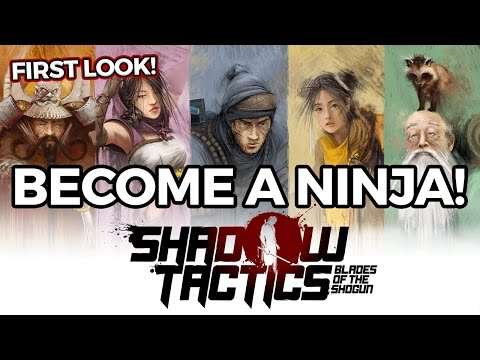 First Look: Shadow Tactics - Game Strategy Seru Jaman Feudal Jepang [INDONESIA]