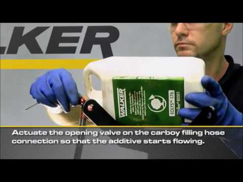 Como encher aditivo eolys no deposito próprio junto á roda traseira no grupo PSA